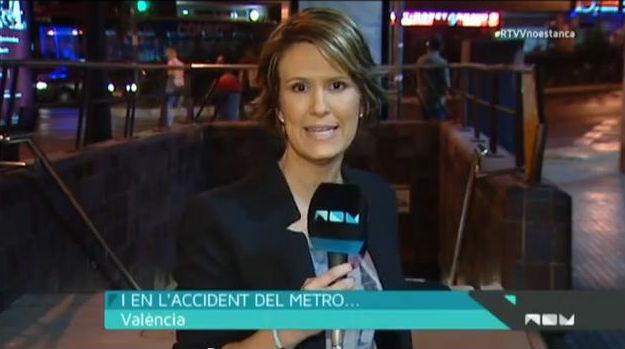 Els treballadors de Canal 9 reconeixen en directe que es va silenciar l'accident de metro de València