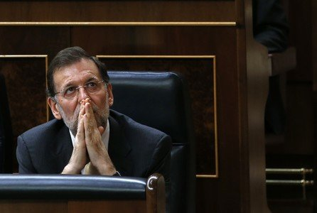 Mariano Rajoy durante una sesin parlamentaria.