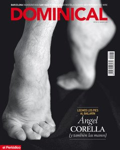 Los pies del bailarn ngel Corella, protagonistas de la portada del 'Dominical' del 24 de febrero.