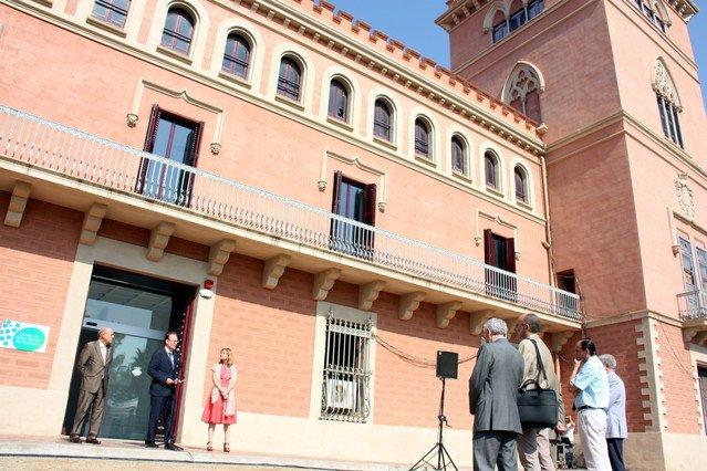 El Palau de Marianao de Sant Boi de Llobregat és la seu definitiva del Clúster de Salut Mental de Catalunya.