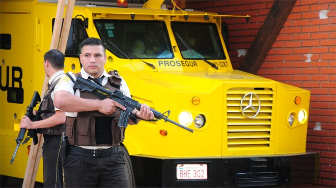 Asaltan con explosivos una sede de Prosegur en Paraguay