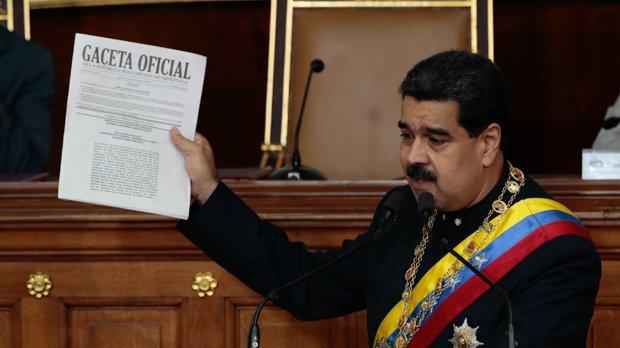 Nicolás Maduro reconeix els poders de la seva Assemblea Nacional Constituent