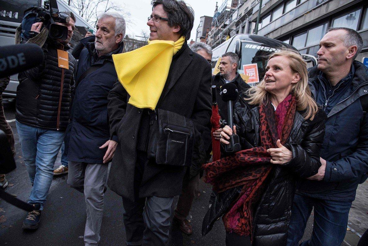 Puigdemont, en Bruselas, el pasado 7 de diciembre.
