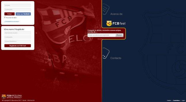 El Barça lanza su propia red social