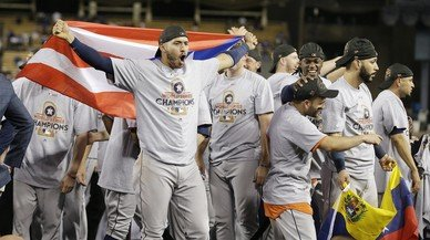 Els Astres de Houston conquisten la seva primera Sèrie Mundial de beisbol