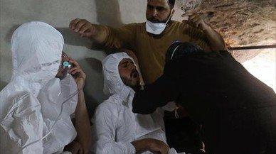 Los expertos confirman el uso de gas sarín en el ataque a Jan Shijún en Siria