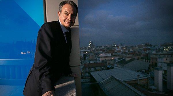 """José Luis Rodríguez Zapatero: """"Jo convocaria els partits catalans per buscar una sortida"""""""