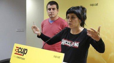 """La CUP demana a Puigdemont que """"s'arremangui"""" amb els pressupostos"""