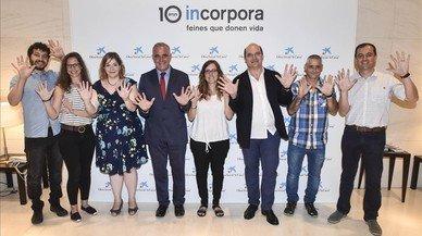 El programa Incorpora ofereix freina a 40.000 persones vulnerables a Catalunya
