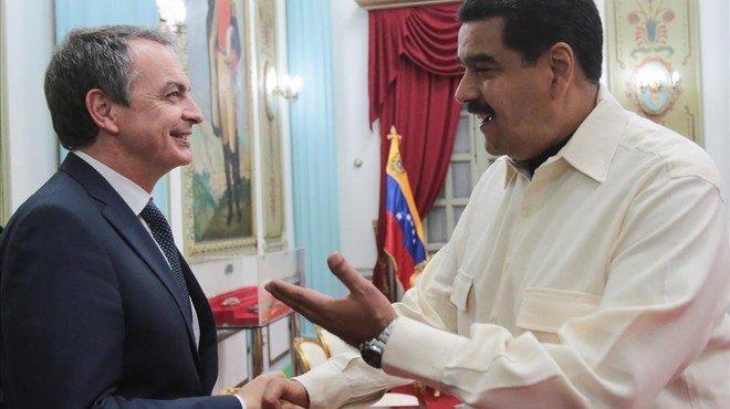 Zapatero intenta crear ponts de diàleg entre Maduro i l'oposició