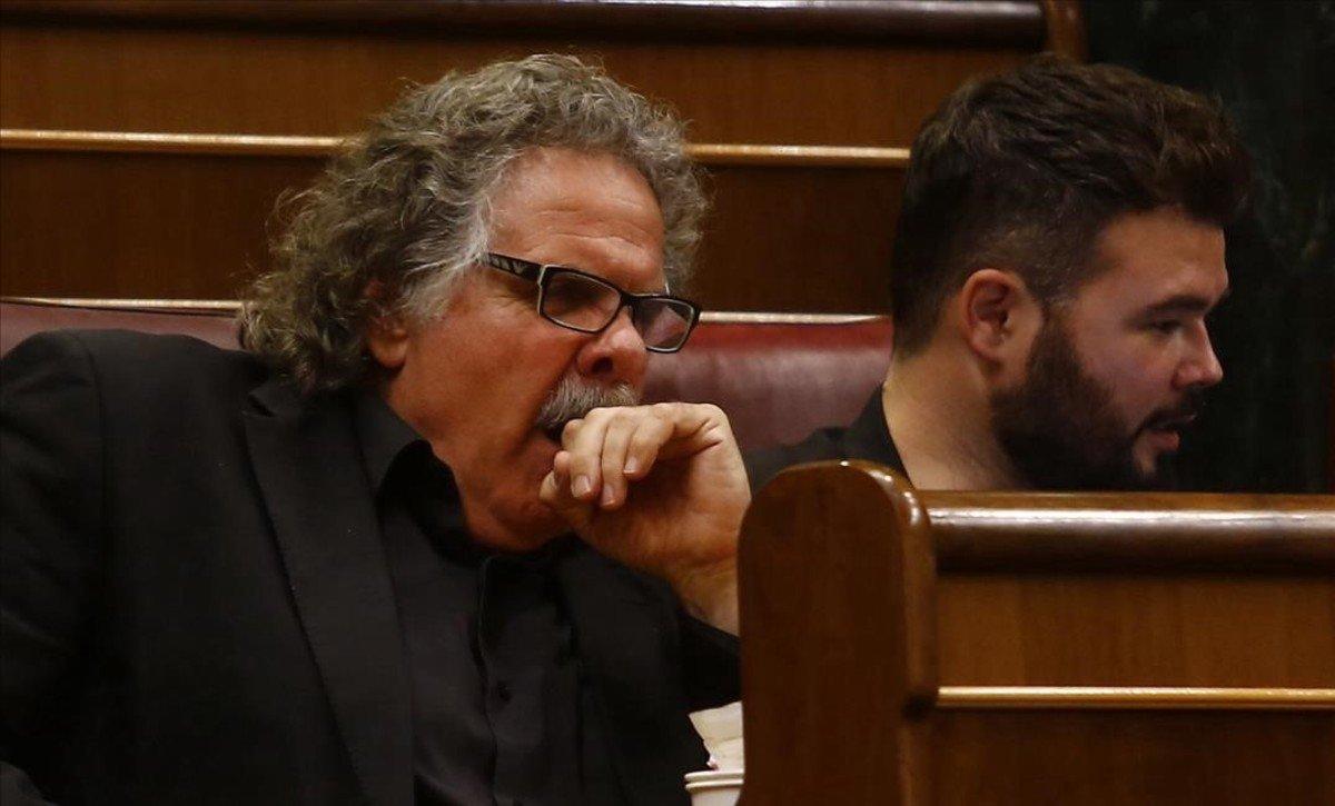 """Tardà acusa de """"mentiroso"""" y """"tramposo"""" a Pedro Sánchez"""