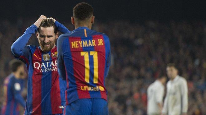 Las fotografías del empate a uno en el clásico entre el Barça y el Real Madrid