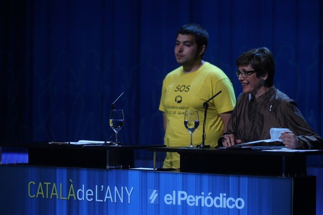 El premio Català de l'Any 2012 en la categoría de mejor iniciativa solidaria es para el voluntariado.