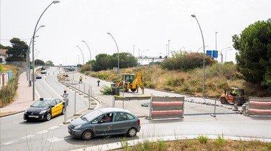 Comença la construcció del carril bici que unirà BCN i Esplugues de Llobregat