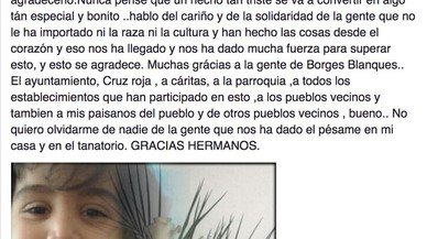 L'emotiva carta d'agraïment de la mare del nen que va morir atropellat a les Borges Blanques