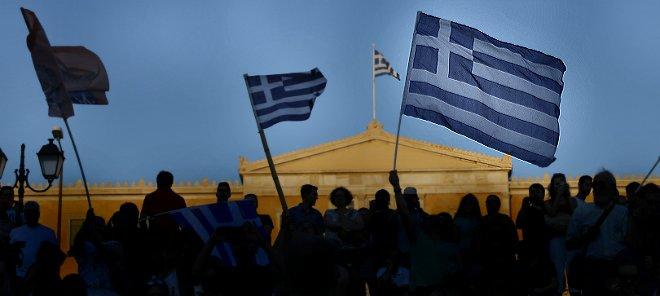Los griegos se plantan