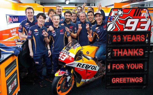 """M�rquez a Rossi: """"Si pierdes el t�tulo, te enfadas"""""""