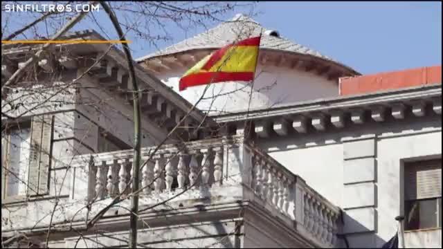 Desallotjat el grup ultra Hogar Social d'un palauet de Madrid