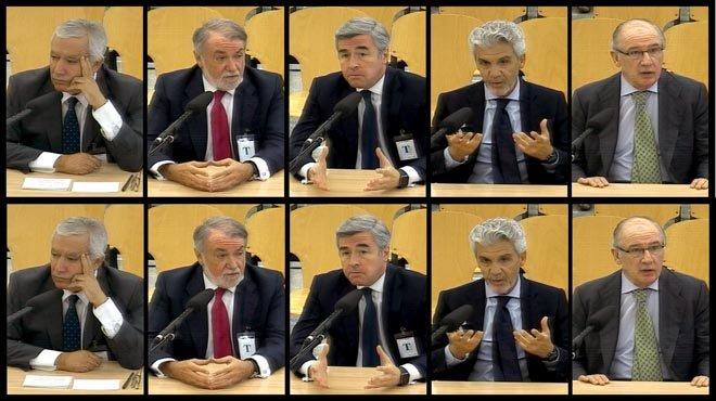 'Overbooking' de exministros en la Audiencia Nacional