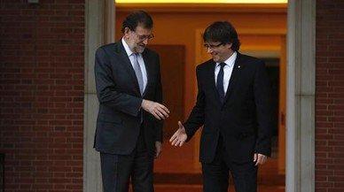 La reunión Rajoy-Puigdemont