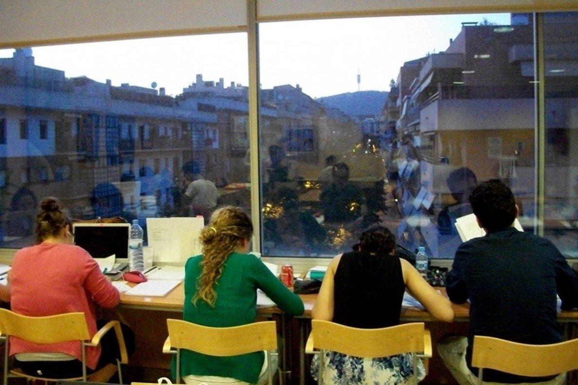 Barcelona comptarà amb més sales d'estudi i un mapa interactiu per consultar-ne l'ocupació