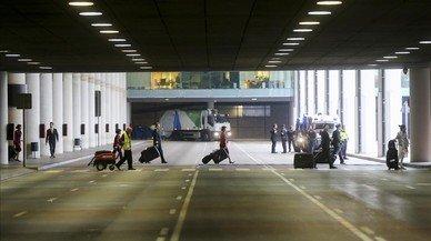 Incidència limitada de la vaga de taxi en el metro, el bus i la xarxa viària