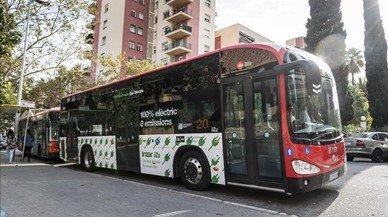 Menys fums al bus i el taxi de Barcelona