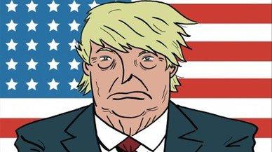 Trump, una mina d'or per a l'humor gràfic