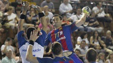 El Barça tomba el Granollers a les semifinals de la Copa del Rei d'handbol