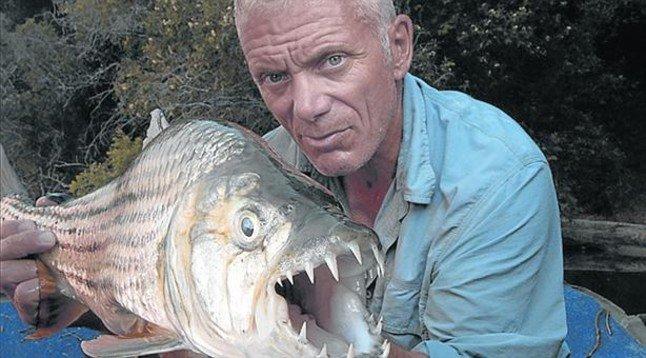 Jeremy Wade: «La anguila eléctrica es lo más peligroso»