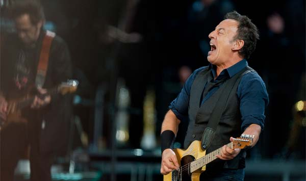 Los mejores momentos del concierto de Bruce Springsteen, anoche en Barcelona.