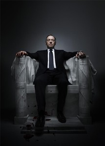 El actor Kevin Spacey, en una imagen promocional de la serie 'House of Cards'.