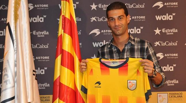 Un ex jugador del FC Barcelona se niega a jugar con la selección catalana