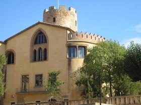 Imagen del exterior del museo Torre Balldovina en Santa Coloma de Gramenet.
