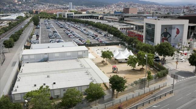 Pp y ciu sellan la modificaci n del pgm de la maquinista - Centro comercial maquinista barcelona ...