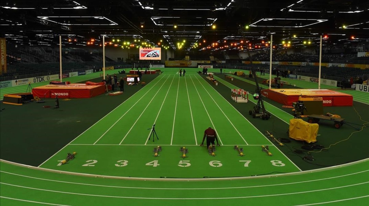 La pista de Portland donde se celebrará el campeonato del mundo.