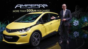 Karl-Thomas Neumann, CEO de Opel, en el pasado salón de París en septiembre de 2106.