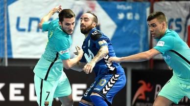 El Barça s'estavella a Torrejón davant un Inter demolidor (6-1)