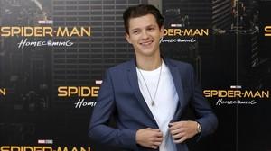 El actor británico Tom Holland, en Madrid, donde presentó Spider-Man: Homecoming, que se estrena el 28 de julio.