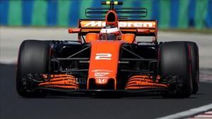 Stoffel Vandoorne fue el más rápido en la primera sesión del test de Hungaroring