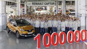 Renault captur 1 millón