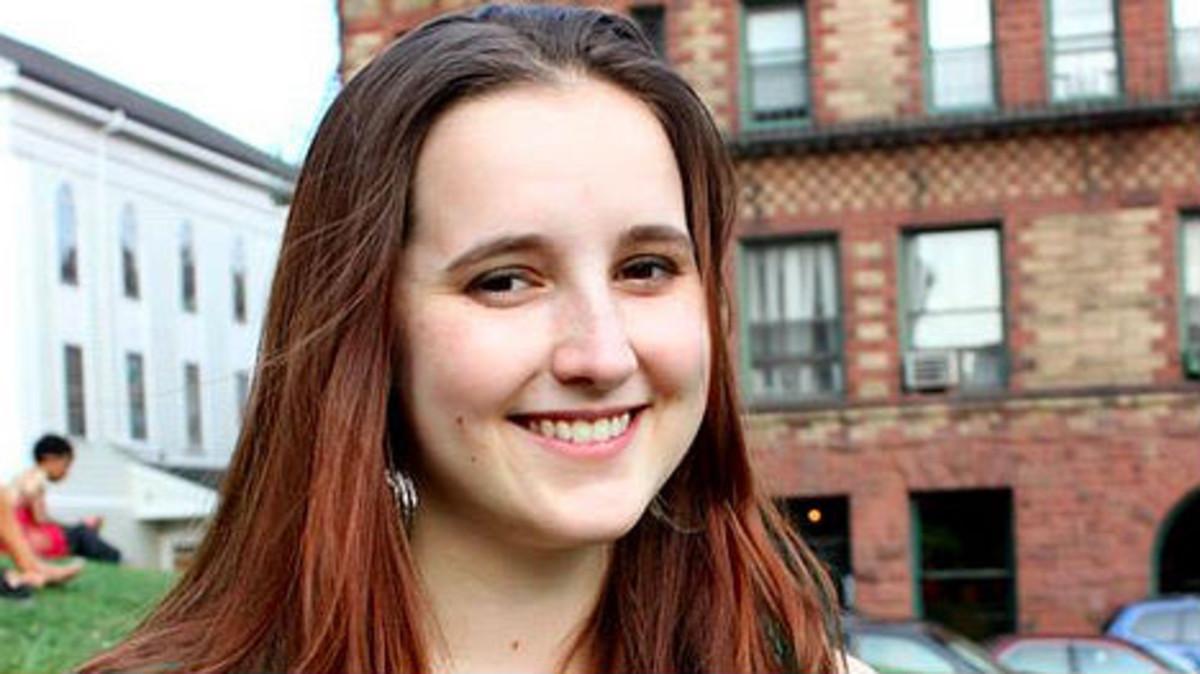 Emily Temple-Wood, estudiante de Biología y editora de la Wikipedia.