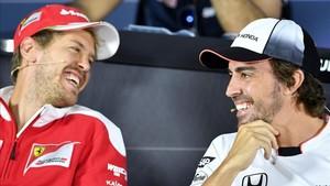 Sebastian Vettel y Fernando Alonso en el Top 10 de pilotos mejor pagados