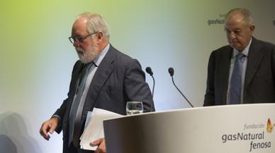 Arias Cañete alaba la tasca de Gabarró al capdavant de Gas Natural