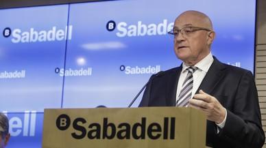 Banc Sabadell espera tancar el 2017 amb un benefici de 800 milions i reduir a la meitat els actius dubtosos el 2020