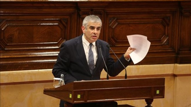 Ciutadans da por perdida la presidencia del Parlament
