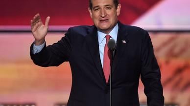 Ted Cruz l'arma a la Convenció republicana negant-li el suport a Trump
