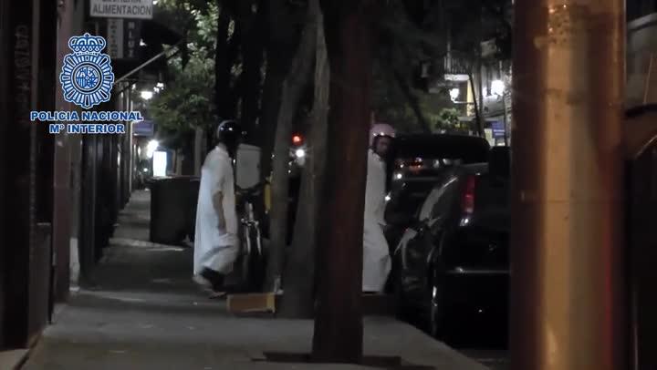 Detención de tres yihadistas en Madrid