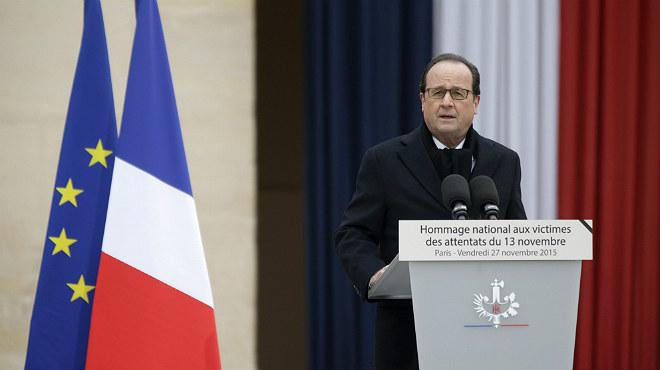 Francia rinde hoy un homenaje nacional a las v�ctimas de los atentados del 13N.