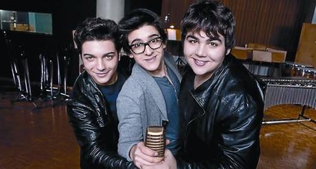 El 'boom' de los tres tenores adolescentes